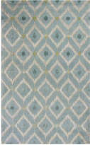"Kas Bob Mackie Home 1018 Ice Blue Mirage 2'6"" x 8' Runner Rug"