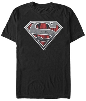 Fifth Sun Dc Men's Superman Concrete Logo Short Sleeve T-Shirt