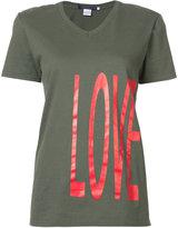 Harvey Faircloth love print T-shirt