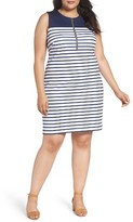MICHAEL Michael Kors Plus Size Women's Norwood Stripe Sheath Dress