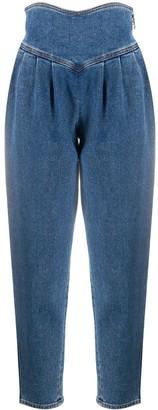 GCDS Super High-Rise Cropped Jeans