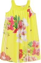 Ted Baker Girsl Orchid Print Pleated Dress