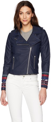 Desigual Women's Annick Embroidered Detail Jacket