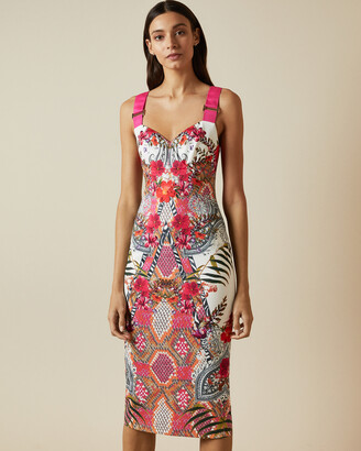 Ted Baker KLOEEY Samba strappy bodycon dress