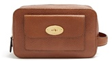 Mulberry Postman's Lock Grained-leather Washbag