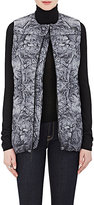 The North Face Women's Abstract-Print Hexagon-Quilted Puffer Vest-GREY