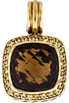 David Yurman Bi-Color Sapphire & Quartz Albion Pendant