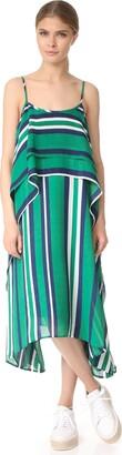 J.o.a. Women's Layered Stripe Sleeveless Dress