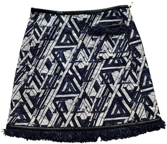 Louis Vuitton Navy Cotton Skirt for Women