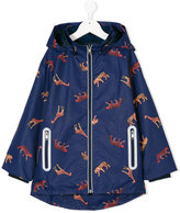 Paul Smith cheetah and giraffe print coat