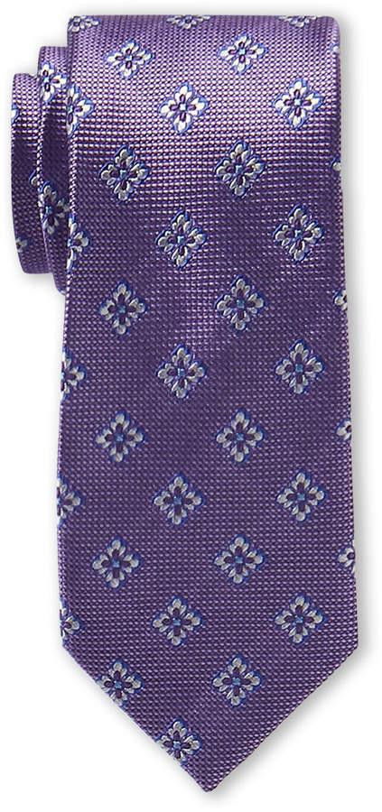Ted Baker Purple Twisted Medallion Tie