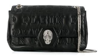 Philipp Plein Crystal Skull Shoulder Bag