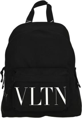 Valentino Vltn Nylon Backpack