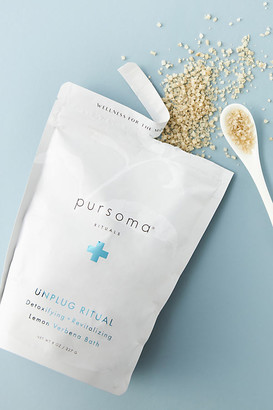 PURSOMA Unplug Ritual Bath Salts By in White