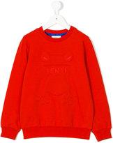 Fendi frog sweatshirt