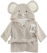 Baby Aspen Hooded Towel/Robe - Squeaky Clean Mouse - 0-9 Months