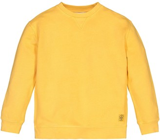 Cotton Crew Neck Sweatshirt, 3-12 Years