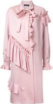 Anna October ruffled midi coat