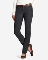 Eddie Bauer Women's Truly Straight StayShape® Corduroy Pants