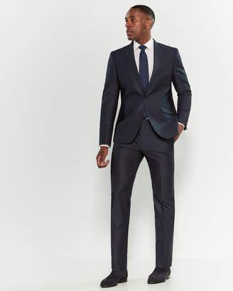 Kenneth Cole Reaction Two-Piece Ready-Flex Plaid Suit