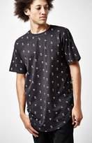 PacSun Lehmann Printed Scallop T-Shirt