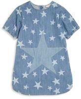 Stella McCartney Toddler's, Little Girl's & Girl's Denim Star-Print Dress