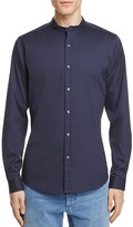 Theory Band Collar Slim Fit Button-Down Shirt - 100% Exclusive