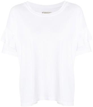 Current/Elliott frill trim T-shirt