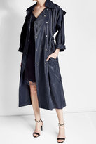 Nina Ricci Trench Coat with Coated Finish