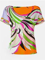Emilio Pucci printed T-shirt - women - Spandex/Elastane/Viscose - 40