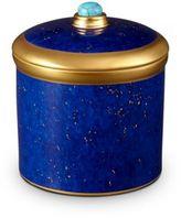 L'OBJET Lapis-Look Limoges Porcelain & 24K Gold Candle