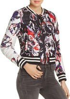 Parker Claude Quilted Bomber Jacket