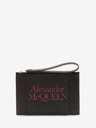 Alexander McQueen Signature Zipper Pouch