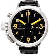 U-Boat Flightdeck 7750/50 Stainless Steel / Leather 50 mm Mens Watch