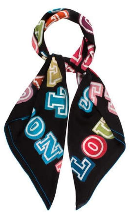 dff1d4751a Great Adventures Giant Square Silk Scarf Black Great Adventures Giant  Square Silk Scarf