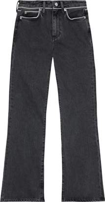 Simon Miller Distressed Mid-rise Flared Jeans