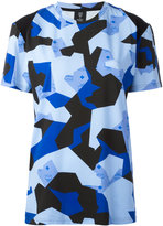 MCM camouflage print T-shirt - women - Cotton/Spandex/Elastane/Lyocell - S