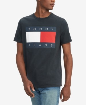Tommy Hilfiger Men's Logo Cotton T-Shirt