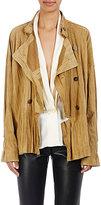 Loewe Women's Crinkled Suede Jacket