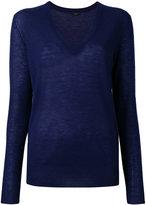 Joseph cashmere V neck jumper - women - Cashmere - XL