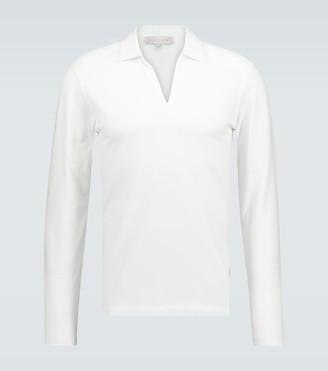 Orlebar Brown Felix long-sleeved polo shirt