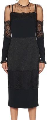 Dolce & Gabbana Lace Sheer Dress