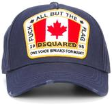 DSQUARED2 Canadian logo patch cap
