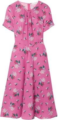 Altuzarra Tuesday Floral-print Silk Crepe De Chine Dress