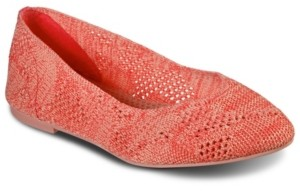 Skechers Women's Cleo Knitty City Casual Ballet Flats from Finish Line