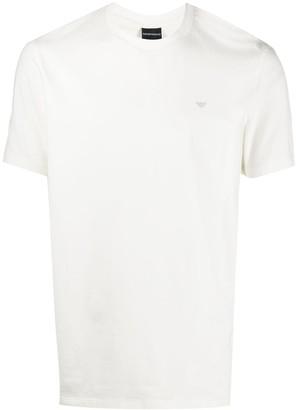 Emporio Armani logo plaque T-shirt