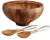 Nambe Yaro Salad Bowl Set
