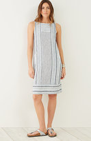 J. Jill Linen Multistriped Dress