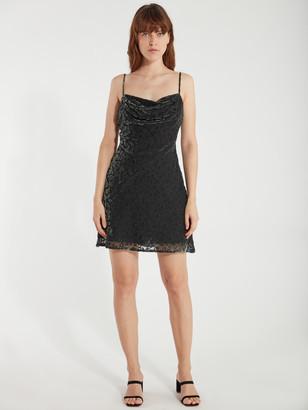 ASTR the Label Gabi Velvet Mini Dress