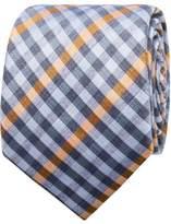 Geoffrey Beene Gingham Check Tie